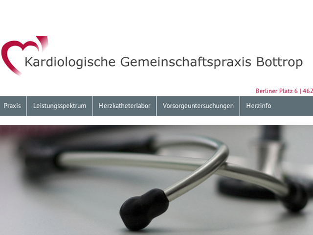 Kardiologie Bottrop (Refresh)